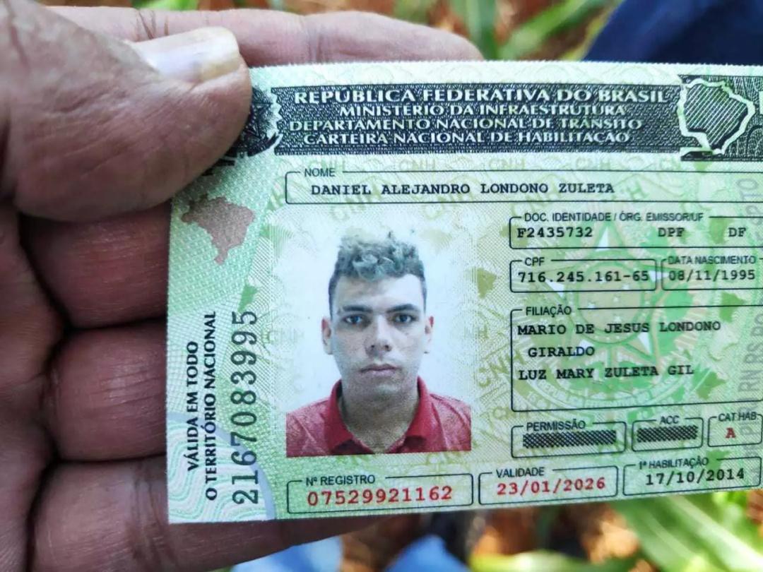 Colombiano encontrado em milharal foi morto a pauladas e golpes de faca