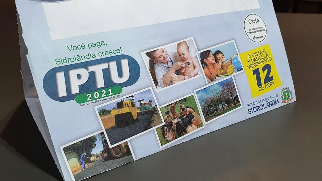 Prefeitura prorroga por 30 dias pagamento do IPTU com desconto de 20%