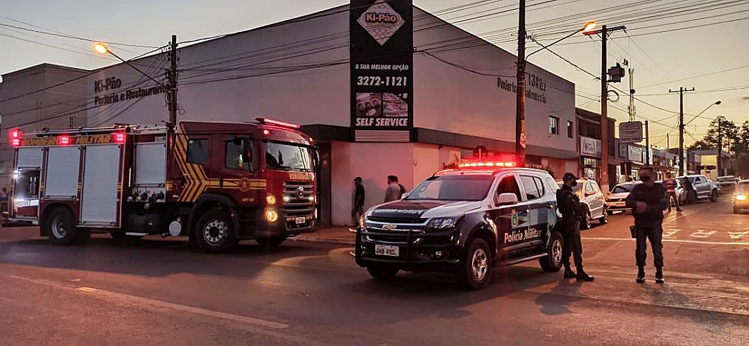 Bombeiros chegam em 4 minutos e evitam que princípio de incêndio na Ki-Pão se transformasse numa tragédia