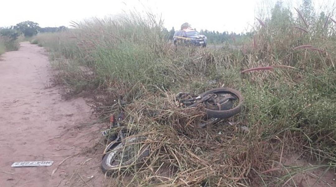 Condutor de moto envolvido em acidente com morte na BR-163 não tinha CNH