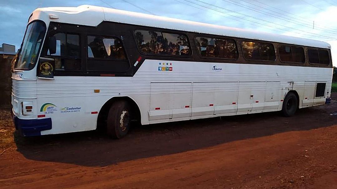Traficante é preso dentro de ônibus de viagem com 10 pacotes de maconha em travesseiro