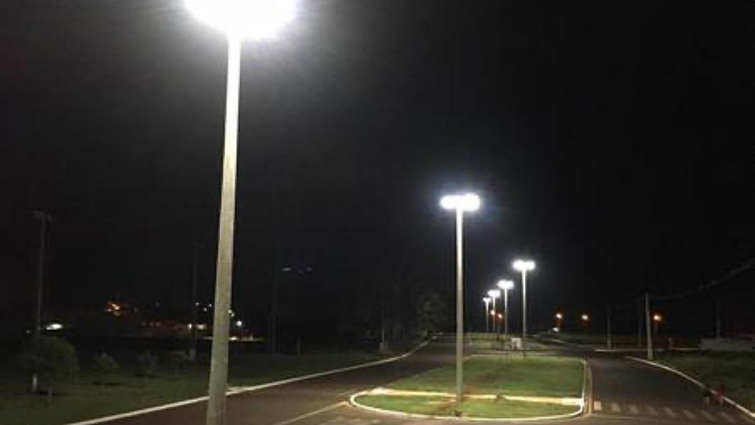 Iluminação de LED já funciona no prolongamento da Avenida Antero Lemes