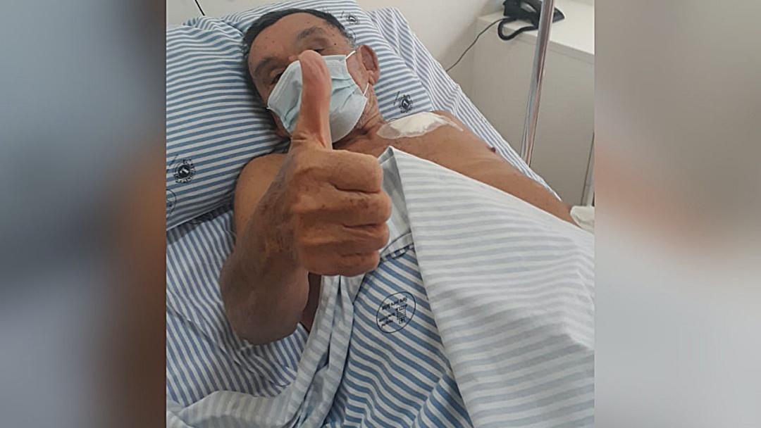 Se recupera bem idoso de 79 anos submetido a cirurgia inédita do coração no Elmiria Silvério