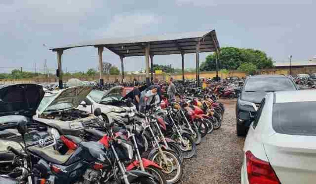 Detran-MS realiza leilão com 180 lotes de veículos para circulação