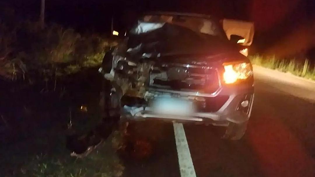 Passageiro morre atropelado após descer de ônibus e atravessar rodovia