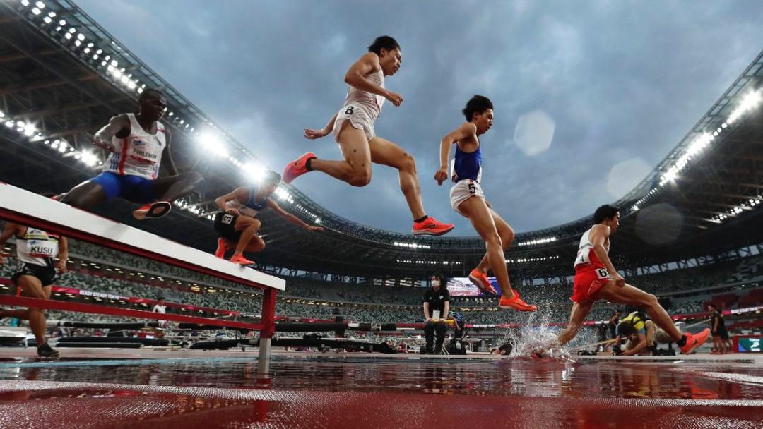 Estádio Olímpico de Tóquio sedia evento-teste