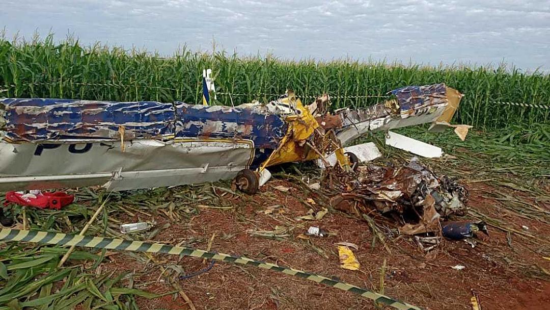 Piloto perdeu sentido de direção antes de avião cair em MS