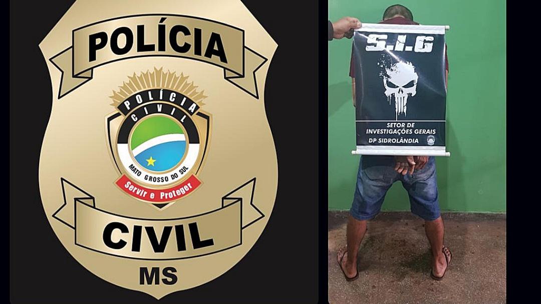 Polícia prende suspeito de estuprar e engravidar a enteada deficiente