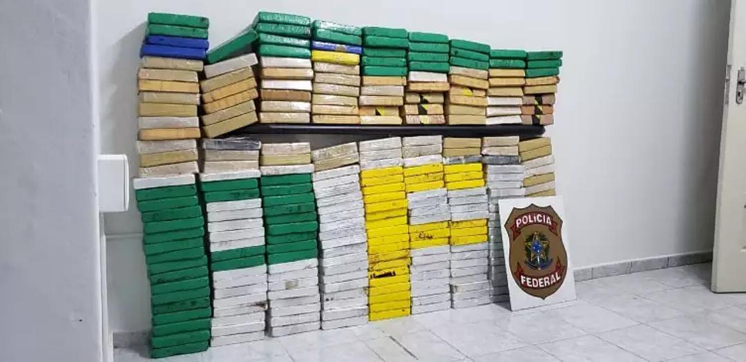 Na maior apreensão do ano, PF flagra traficante com 280 quilos de cocaína