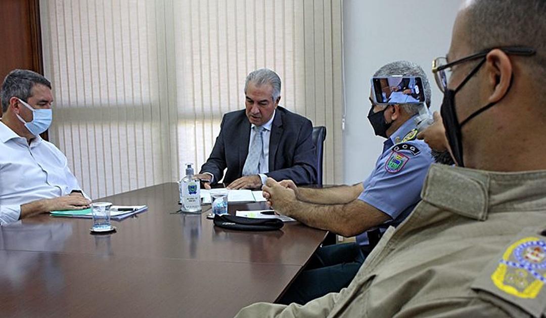 Governador anuncia o chamamento de mais 347 policiais e bombeiros aprovados