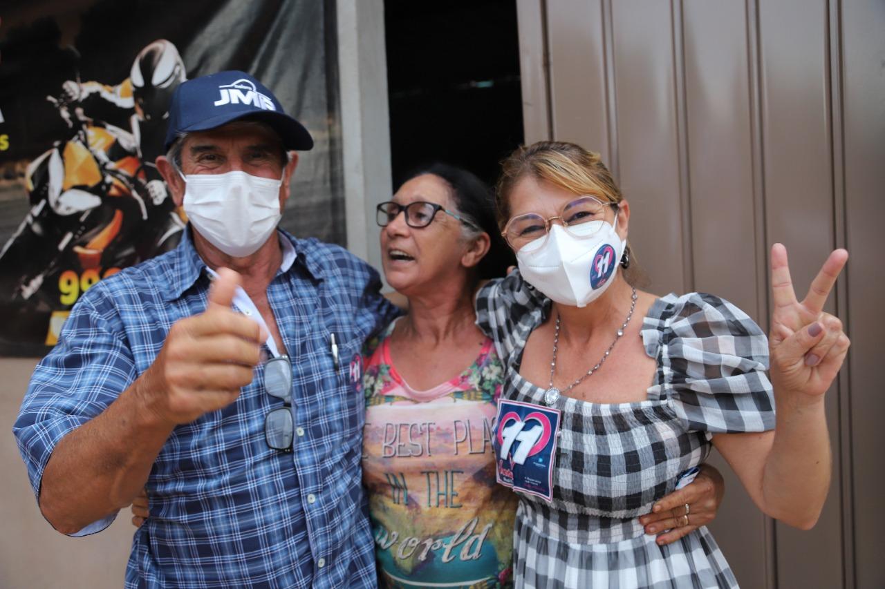 Na reta de chegada, Daltro reforça papel de principal cabo eleitoral de Vanda