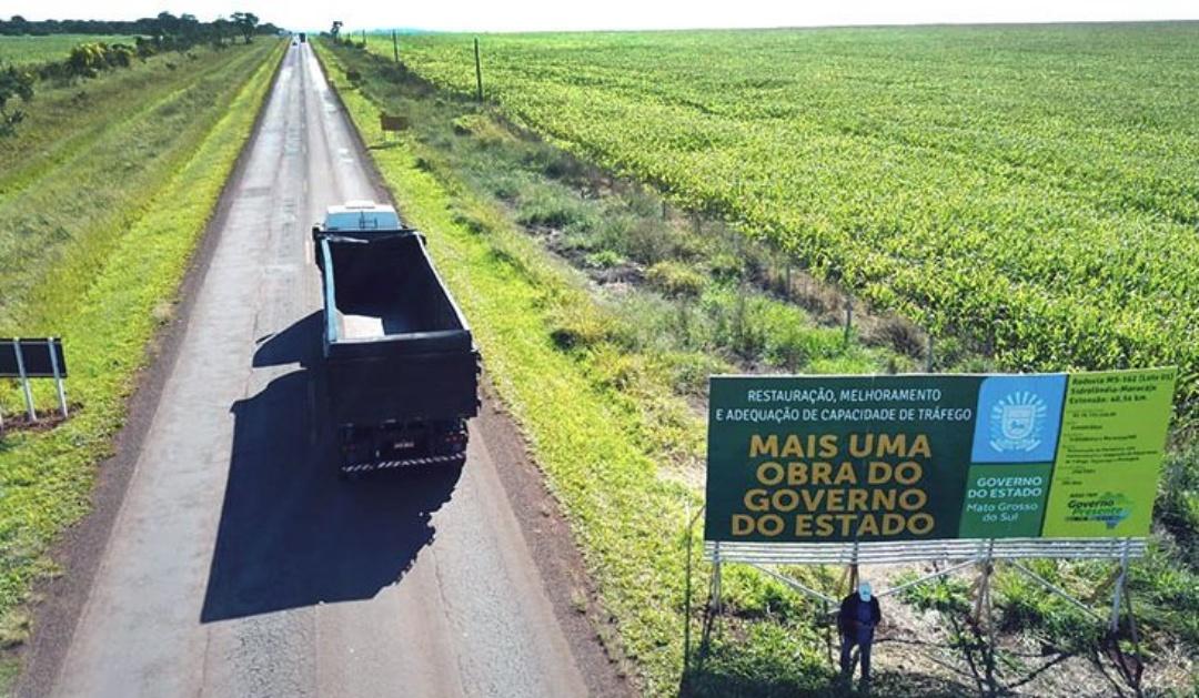 Governo assina duas ordens de serviço para recapeamento de rodovias de Maracaju