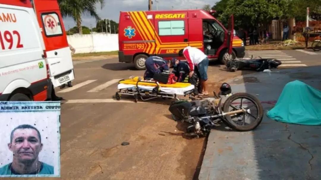 Homem morre após capacete cair em acidente entre motocicletas