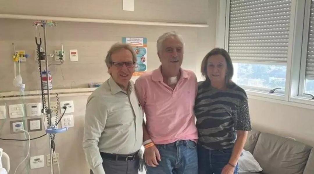 Com infecção, Murilo Zauith segue internado em hospital de São Paulo