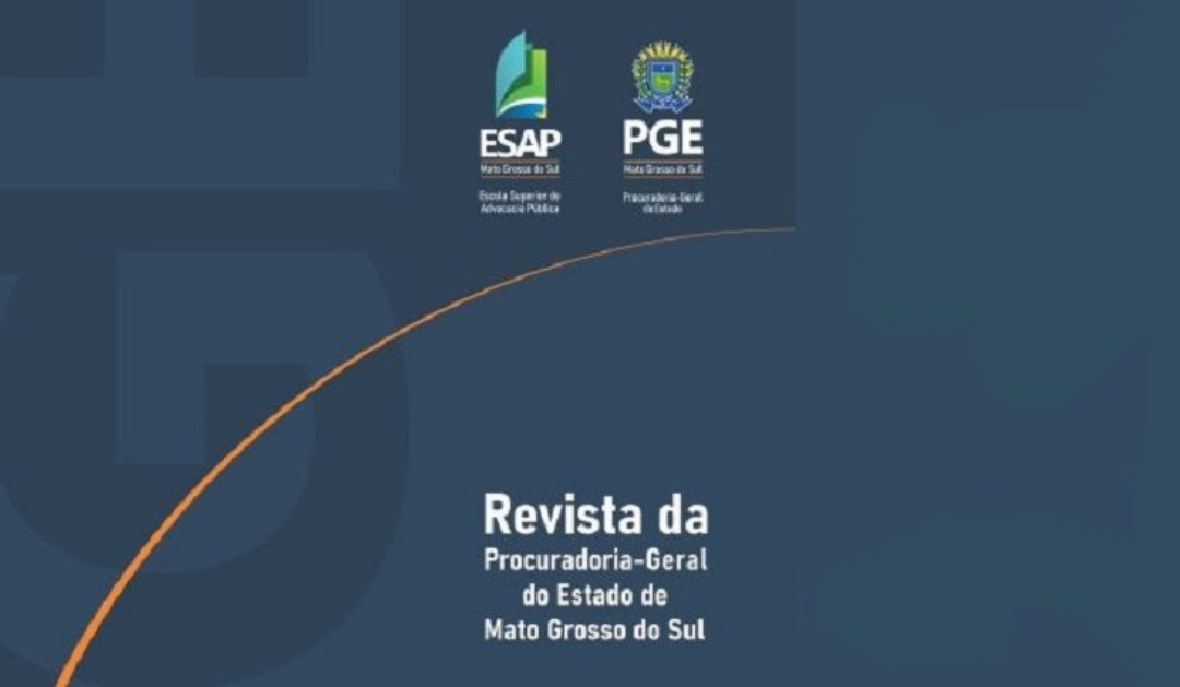 Prazo da Revista da PGE/MS termina em setembro