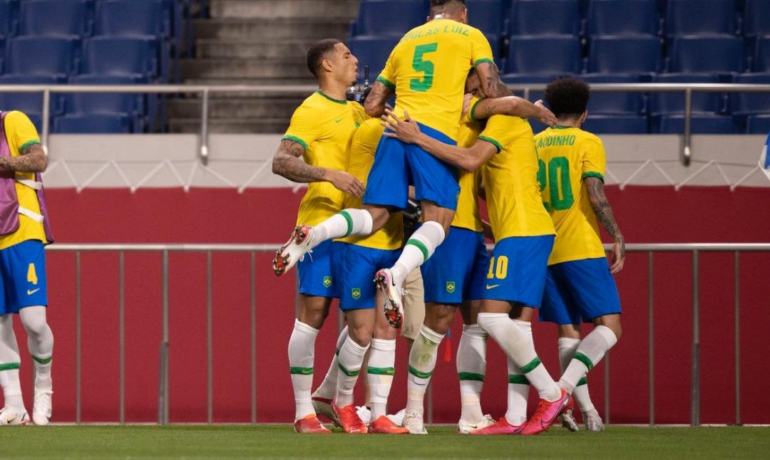 Brasil vence Egito e vai à semifinal do futebol masculino