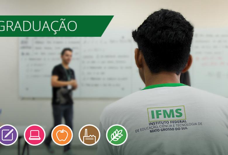 Inscrições para processos seletivos do IFMS terminam amanhã