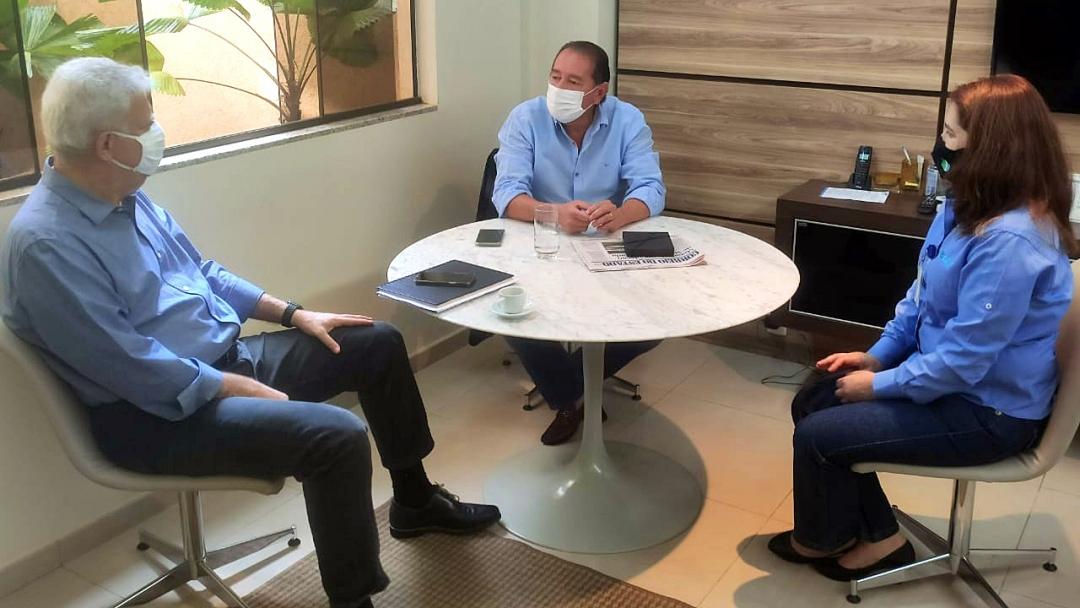Deputado e MSGÁS discutem ramal de Sidrolândia e benefícios para adesão ao GNV