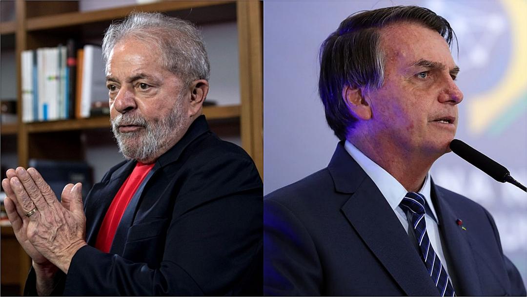 Datafolha: Lula tem 56% no 2º turno; Bolsonaro, 31%