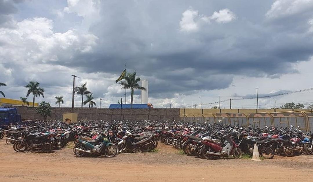 Com lances a partir de R$ 550, Detran-MS abre leilão com mais 168 lotes