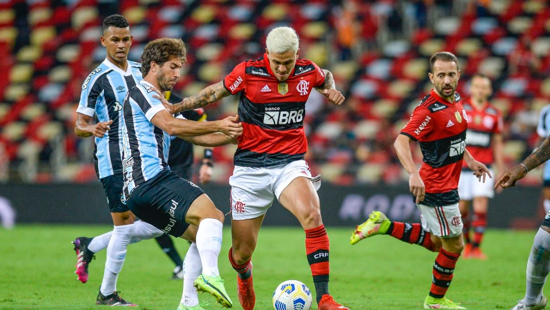 Flamengo volta a receber Grêmio no Maracanã, desta vez pelo Brasileiro