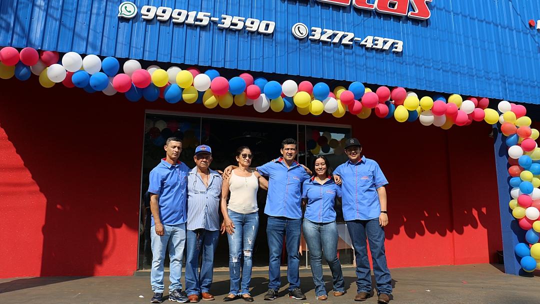 Inaugurada Auto Latas, 1ª loja especializada em lataria veicular de Sidrolândia