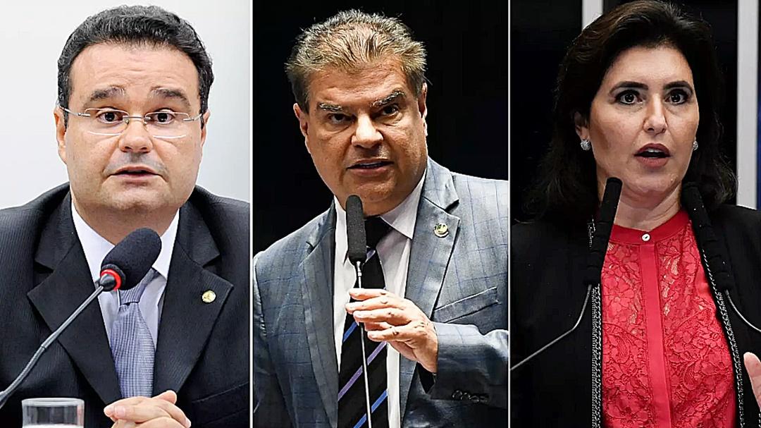 Nelsinho, Simone e Fábio integram 'elite parlamentar' do Congresso