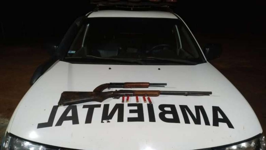 Indígena é preso com duas armas de fogo e cinco munições ilegais